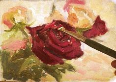 how to paint roses   How To Paint Roses : Tackling a Beautiful Yet Complicated Flower