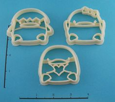 Cute Duck Chick Cookie Cutters. $13.50, via Etsy.