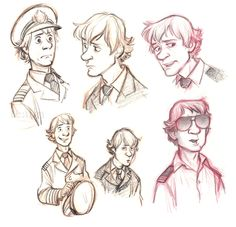 Revisiting Martin Crieff, with mixed results. I think I made him nervous. Guy Drawing, Drawing Reference, Drawing Ideas, Facial Expressions Drawing, Character Art, Character Design, Cabin Pressure, Pie In The Sky, Yellow Car