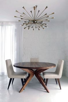 Gorgeous lighting and table