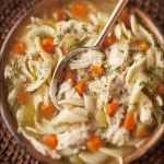 Old-Fashioned Chicken Noodle Soup - chicken noodle soup does so much more than feed a cold - it's love and comfort in a bowl. The BEST chicken noodle soup! Cooker Recipes, Soup Recipes, Chicken Recipes, Dinner Recipes, Healthy Recipes, Recipies, Homemade Chicken Soup, Chicken Noodle Soup, Do It Yourself Food