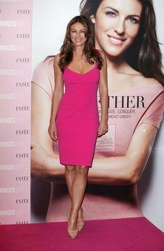 Elizabeth Hurley in pink
