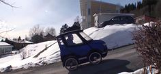 PodRide is an electric bicycle disguised as a tiny car