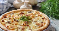 Recette de Quiche allégée aux champignons, lardons, jambon et fromage. Facile et rapide à réaliser, goûteuse et diététique.