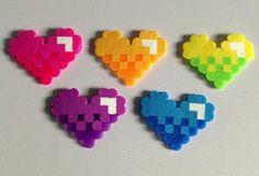 mignons petits cœurs en perles hama