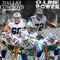 #DallasCowboys O-LINE POWER #RonaldLeary #ZackMatin #TyronSmith #MackenzyBernadeau #TravisFrederick #DougFree #CowboysNation #DalllasCowboysPix