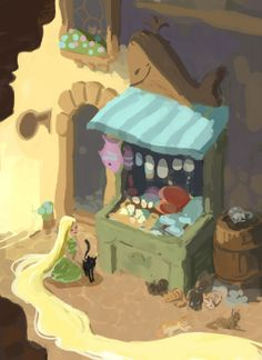 Raiponce - The Art of Disney Tangled 2010, Disney Tangled, Arte Disney, Disney Art, Disney Wiki, Disney Characters, Rapunzel Sketch, Tangled Concept Art, Animation Disney