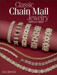 Building on the popularity of her best-selling Classic Chain Mail Jewelry , Sue Ripsch offers exciting new variations on many popular chain mail weaves that will tempt motivated beginners and experien