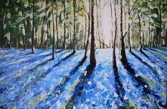 Bluebell forest England 2014 by NatashaHawes on Etsy