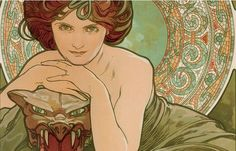 """Alphonse Mucha and the Art Nouveau Atmosphere"" Exhibition from 10.02.2015 to 26.03.2016 at the Palazzo reale, Milan  www.mostramucha.it  Organised by City Council of Milan - Cultura e da 24 Ore. Gruppo 24 Ore"