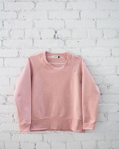 Crowd favourite and the best all season sweatshirt. #ethicallymade #pink