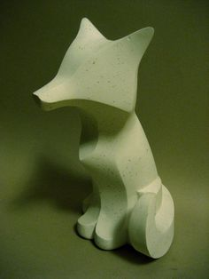 Plainer Fox Sculpture  - Plainer Fox Fine Art Print