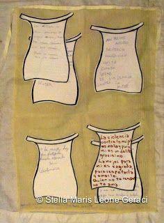 El Delantal de la Mujer Sumisa : Delantales Intervenidos por Alumnxs