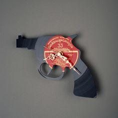 Omega Vinyl - Vinyl wall clock: Revolver, $75.00 (http://www.omegavinyl.com/products/Vinyl-wall-clock:-Revolver.html)