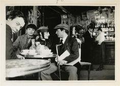 * Manuel Ortiz de Zarate, Moïse Kisling, Pâquerette et Picasso à Montparnasse au café La Rotonde 1916 photo Jean Cocteau