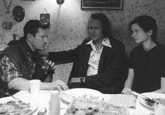 Lars von Trier with Stellan Skarsgård and Emily Watson - Breaking the Waves