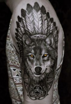 Best wolf sleeve tattoo for men - best wolf tattoos for men: cool wolf tattoo designs and ideas for guys - howling, snarling, angry, alpha, wolf pack Half Sleeve Tattoos Designs, Sleeve Tattoos For Women, Tattoos For Women Small, Tattoo Designs Men, Wolf Sleeve, Wolf Tattoo Sleeve, Tattoo Wolf, Wolf Tattoos Men, Tattoos Skull