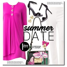 Summer Date: Rooftop Bar by beebeely-look on Polyvore featuring Joseph Ribkoff…
