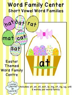 Easter themed word f