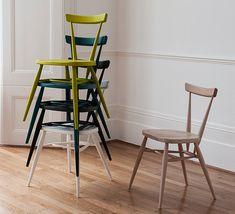 Ercol I Classics I stacking chair