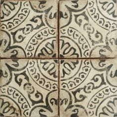 YES! YES! YES! think big scale on open greatroom floor- look of white wash painted wood floor!! Love the pattern!  Tabarka Paris Metro 2