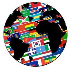 https://www.wallmonkeys.com/35211570/FOT/globe+terrestre+-+drapeaux+-++pays+du+monde