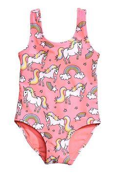 b1e8ae336 Summer Baby bikini Kids unicorn printed Swimsuit One Piece Girls Watermelon  Print Swimwear  onepiecechildlitterkidsgirlsswimwearbikini