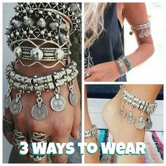 🔮BOGO Boho Silver Coin Bracelet Anklet Arm 🔮Everything is temporarily BOGO HALF OFF. See closet sale listing for rules. 🔮  Reduced from $15 to $10! This bracelet/anklet is brand new and is big enough to also be worn as an anklet or upper arm bracelet.  It's silver plated (not sterling).  It's adjustable so should fit most wrists and ankles.  It's great to add to any boho look!  I wear mine a lot with the matching necklace and earrings and am always asked where I got them. It measures…