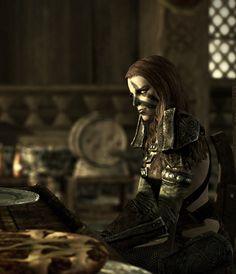 Skyrim character : Aela The Huntress by ~skyrimphotographer on deviantART