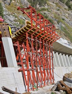 Marchlehner Gallery - four formwork units were based on VARIOKIT system components