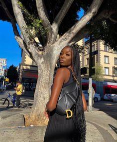 Urban Fashion, Daily Fashion, All Black Everything, Cute Summer Outfits, Brown Skin, Black Is Beautiful, Black Girls, Black Women, Black Hair