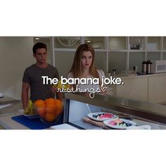 """#RedBandSociety 1x10 """"What I Did For Love"""" - """"The banana joke"""""""