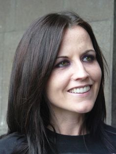 Dolores O'Riordan (September 6, 1971-January 15, 2018), the lead singer of the Irish band The Cranberries (May 6, 2007)