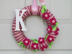 Cute Spring wreath!