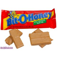 Bit-O-Honey Candy Bars: