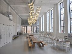 installation view of 'stairway to heaven' at wennekerpand / grand café wenneker-Moooi
