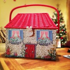 Cath kidston sewing box, cottage ❤️