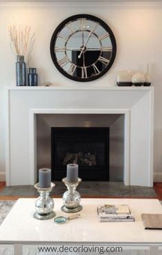 Chic Ways to Decorate Your Fireplace Mantel in 2019 Home Decor modern mantel decor ideas - Modern Decoration Fireplace Mantle Decor, Fireplace Design, House Styles, New Homes, Mantle Decor, Home Decor, Modern Fireplace, Minimalist Home, Modern Fireplace Decor