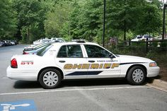 Knox County Sheriff # 3675 Ford CVPI