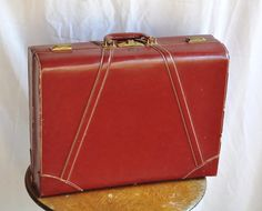 1940s Antique Vintage Luggage :3