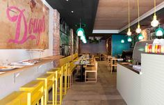 Fun and casual, the way a pizza bar should be - Dough pizzeria by Mobilia in Perth Australia