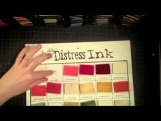 Another great way to organize distress ink and their blending foam.  She has the printable chart on her blog.