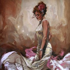New with COA SALE 50/% OFF Golden Seduction by Mark Spain Canvas on Board