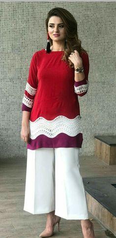 plus size clothing Simple Pakistani Dresses, Pakistani Fashion Casual, Pakistani Dress Design, Pakistani Outfits, Indian Fashion, Stylish Dresses For Girls, Simple Dresses, Casual Dresses, Fashion Dresses