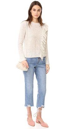 Rebecca Taylor Ruffle Sweater