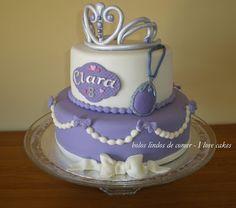 Bolos lindos de comer: Bolo princesa Sofia II / Princess Sofia cake II