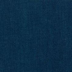 Robert Kaufman's 4.5 oz fineline Indigo Denim