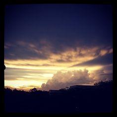 Sunset at Nanyang Technological University, Singapore