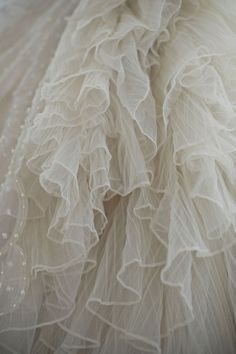 Dresses Tulle Chiffon Organza Silk Muslin Sequins Velvet Soft cotton Some lace and a little bit of bling