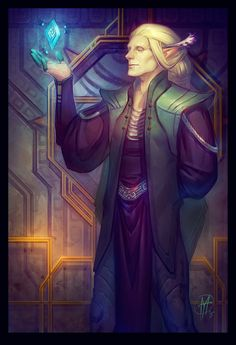 "June.  The God of Craft in elven pantheon of Dragon Age universe.    ""..Elven…"